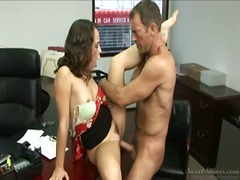 Juvenile secretary seduces... - 02:00