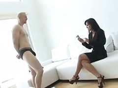 Super porn star Lisa Ann gets some de...