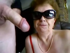 dildo, mature, cum-shot, blowjob