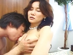 Petite asian woman get...
