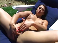pink, latin, brunette, tits, horny,