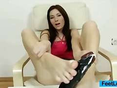 kat,  brun, fetish, foot-fetish