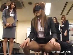 Blindfolded asian fuck... video