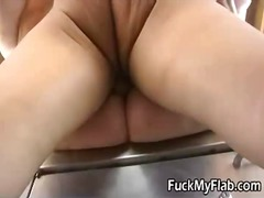 Thumb: Hawt Blonde bbw screwe...