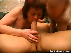 blowjob, threesome, mature