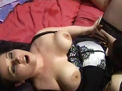 UK honeys Kaicee and Courtney get pounded