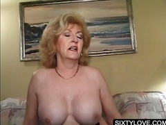 granny, blonde, mature, hardcore,