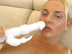 Blonde Bombshell CumSt... video