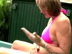 Thumb: Mature slut Ann taking...