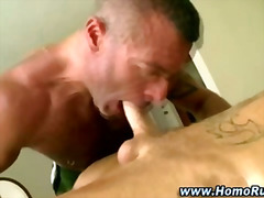 H2porn Movie:Homo bear targets his straight...