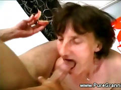 mature, bizarre, cocksucking, bj, sucking, granny, blowjob