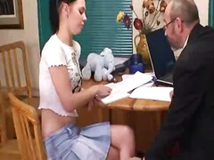 Alluring teen schoolgi... video