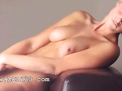 toy, babe, blonde, pussy-eating,