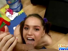 Sweet teen babysitter ... video
