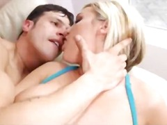 Big Boobed Blonde Pounded - Yobt TV