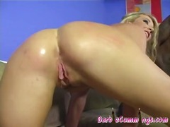 Triple Interracial Creampie!