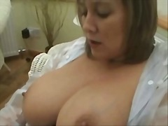 british, milf, masturbation