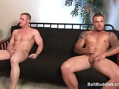 Thumb: Two buff str8 dudes sh...