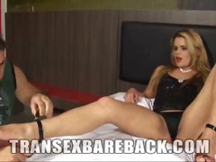 Blonde Tgirl Josiane S... video
