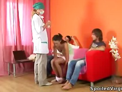 Horny teen angel tries... preview