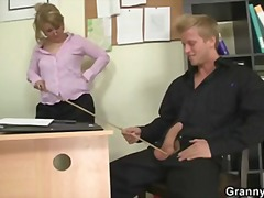 Office bitch enjoys ri... video