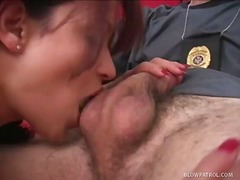 Dark Haired Stripper Is Eager To Suck And Fuck