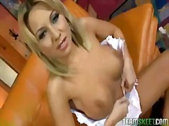 TITTYATTACK BLONDE LAT... video