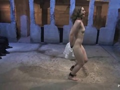 Yobt TV Movie:Humiliated and bound up waitre...