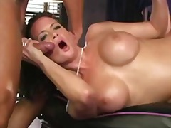 euro, tattoo, huge-tits, blowjob, mom