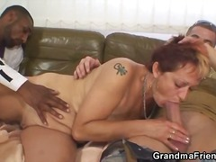 interracial, amateur, dick, granny, threesome, hardcore