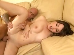 Horny bitch Sandy pleasant receives her tight Moist pussy stuffed with stiff hard cock