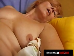 granny, sextoys, dress, dildo, gilf