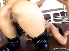 ass-licking, kora cummings, doll, fetish