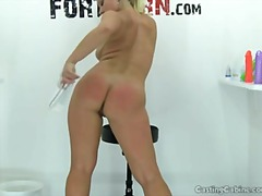 CASTING CABINE: BUSTY ... video