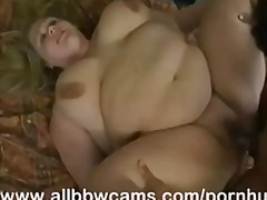 JUICY BBW FUCKS UP HER CUNT AND GIANT TITS PART 3