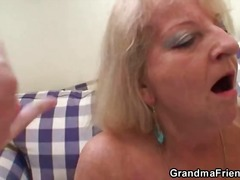 Stockings grandma fucked - 01:21