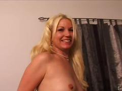 mmf, blonde, big-tits, oral, shaved, 3some
