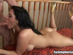 WinPorn Movie:Slapping her face with a big c...