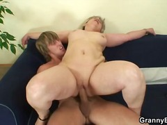 Granny cunt filled to ... video