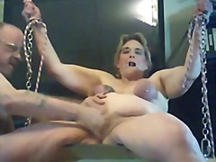 Rides her swing and cumms - 07:19