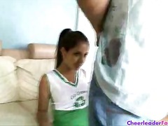 Lovely latina cheerleader ... - 05:06