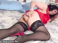 Thumbmail - Horny busty housewife ...