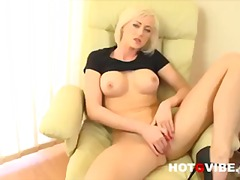 BLONDE EURO BABE VICTO... video