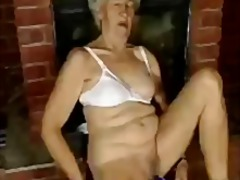 mature, granny, masturbation,