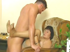 ProPorn Movie:Mature german whore gets a sav...
