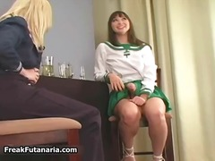 Two cute lesbian babes... preview