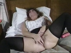 Thumb: Hairy Cunt Slut Gets H...