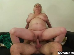 mature, hardcore, blonde, granny