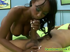 big-tits, ebony, black, facial,