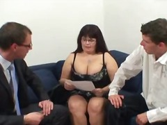 Mature is chubby and h... video